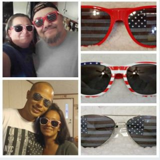 Show Your American Pride While Protecting Your Eyes!