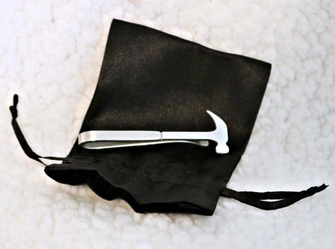 Hammer Tie Clip