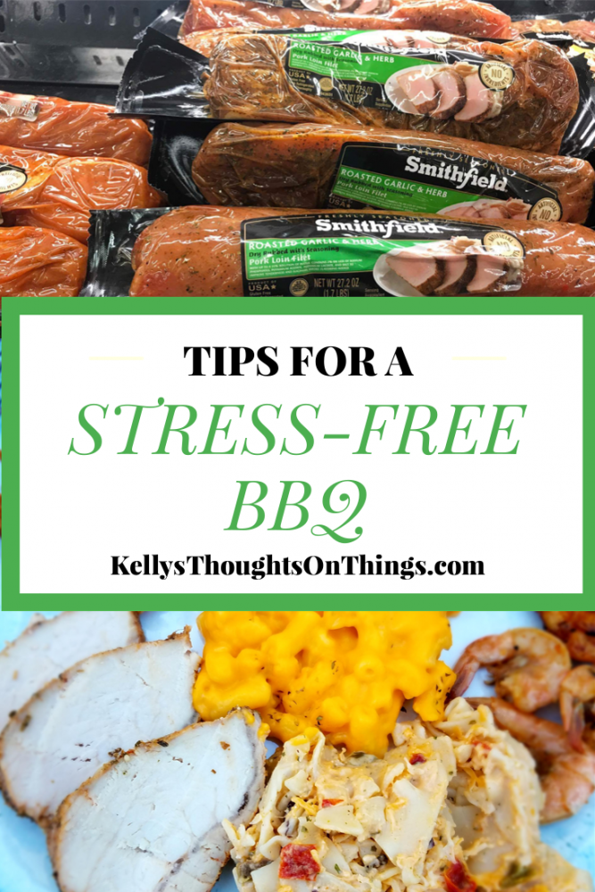 TIps For a Stress-Free BBQ with Smithfield Pork and Food Lion