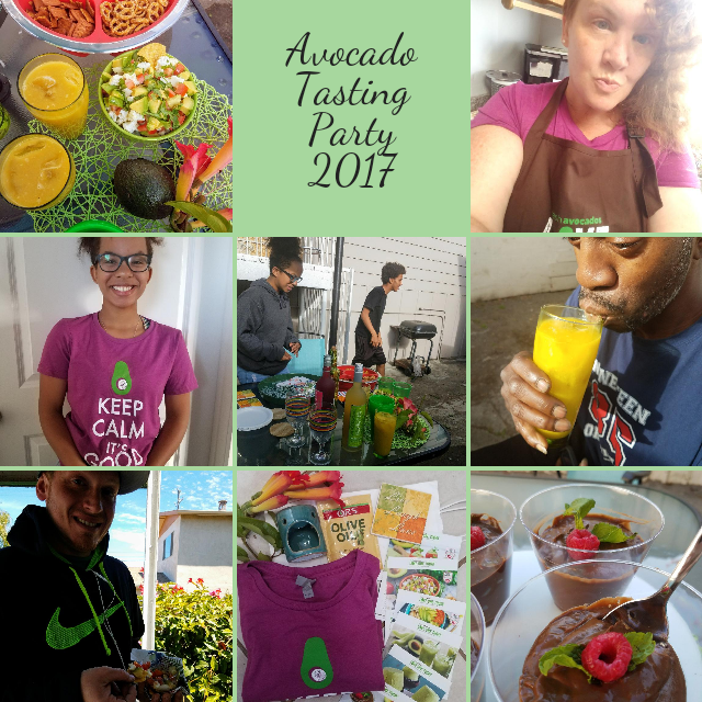 Our AVOCADO PARTY! We had a blast and ate good FAT!