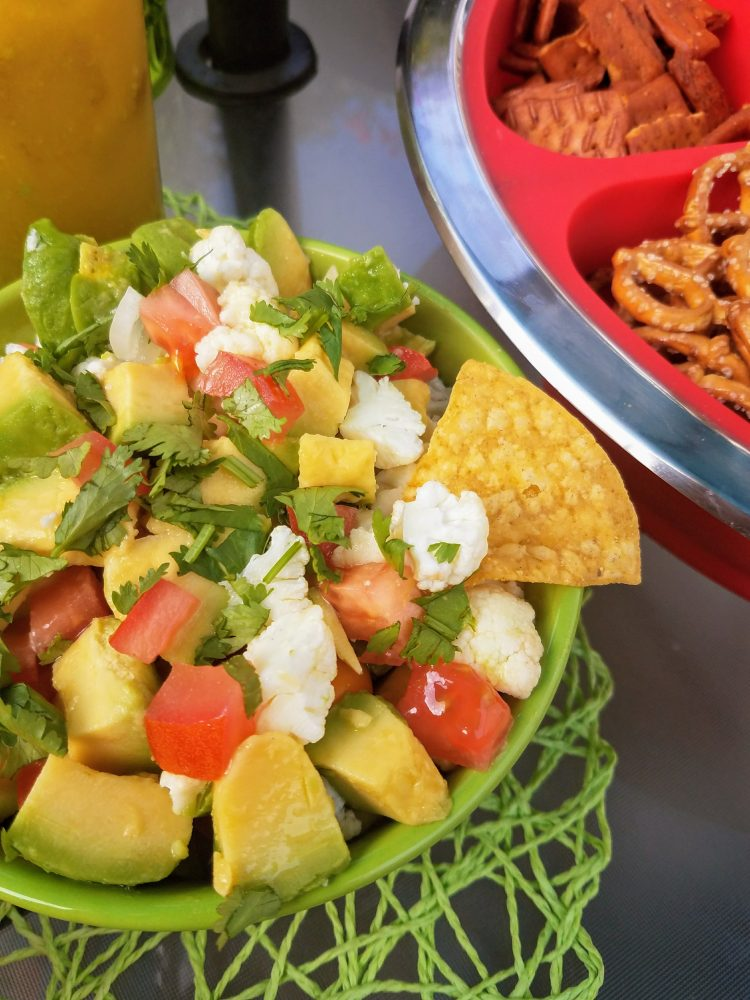 Vegan Avocado Ceviche for our #AvoParty - this was the hit of the PARTY!