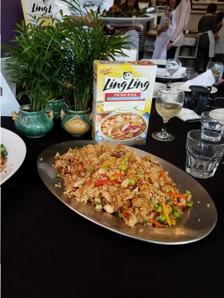 For our readers, we also have a $2 off a box ofLing Ling Fried Rice at any retailer where the products are sold. We highly recommend Ling Ling Fried Rice for your family for a weekday/weekend dinner dish.