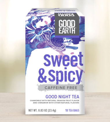 sweet and spicy goodnight tea
