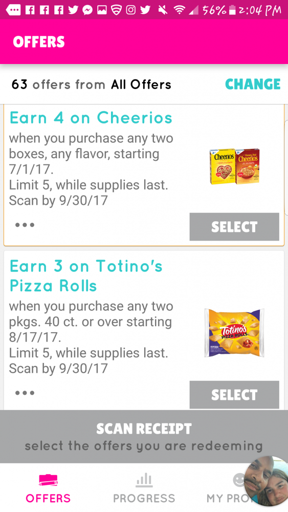 Earn More Points With The Box Tops App!