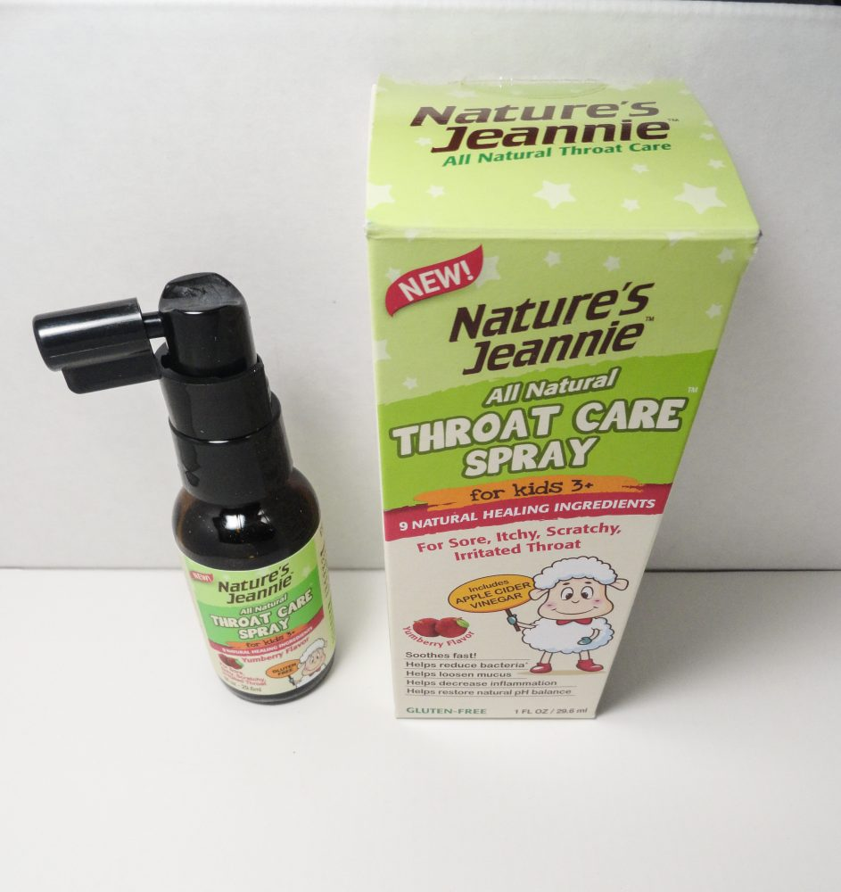 Throat Care Spray away pain and germs