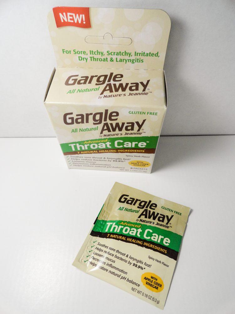 gargle away germs and pain