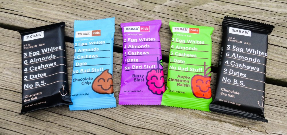RXBAR for school lunches