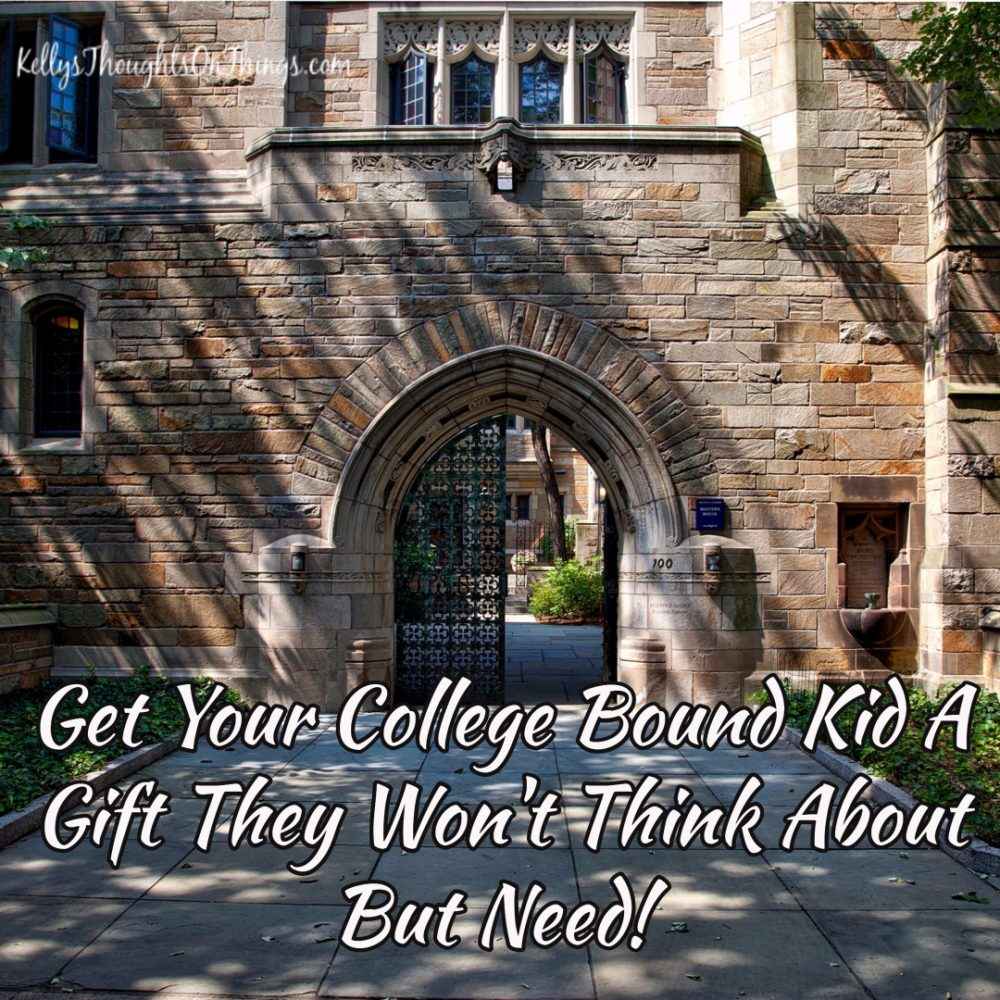 Get Your College Bound Kid A Gift They Won't Think About But Need!