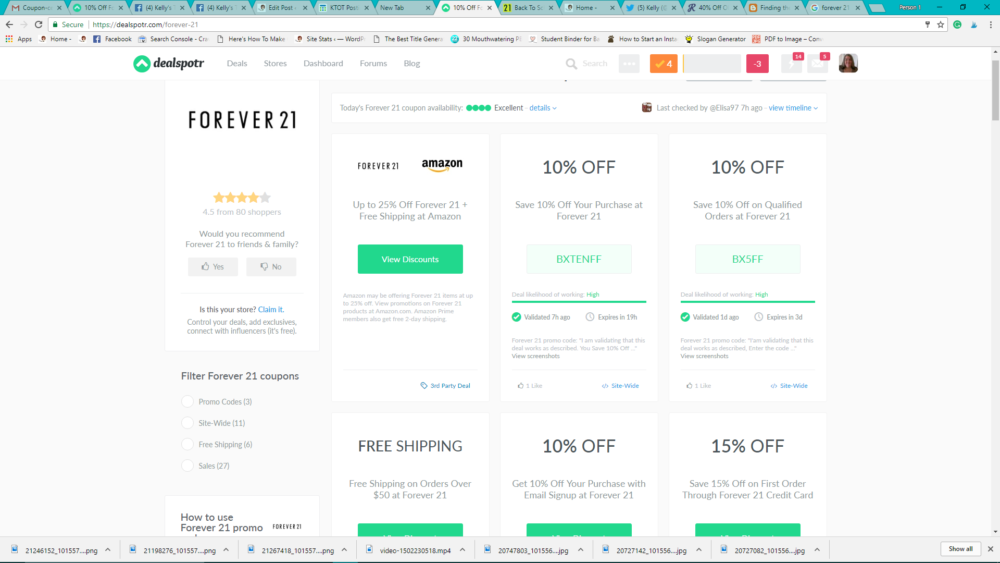 My Favorite Ways To Find Forever 21 Promo Codes Kellys Thoughts On Things