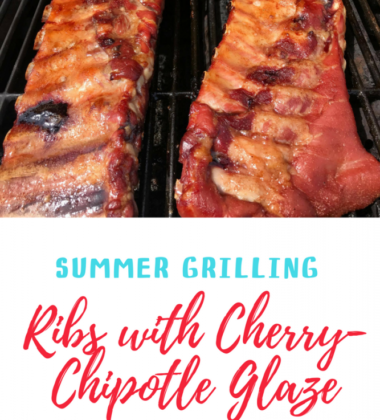 Summer Grilling - Cherry-Chipotle Glazed Spareribs