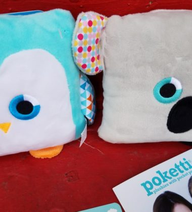 "Poketti is a unique company because it was created by kids to inspire kids. By creating plushie stuffed animal toys with ""Pocket Powers,"
