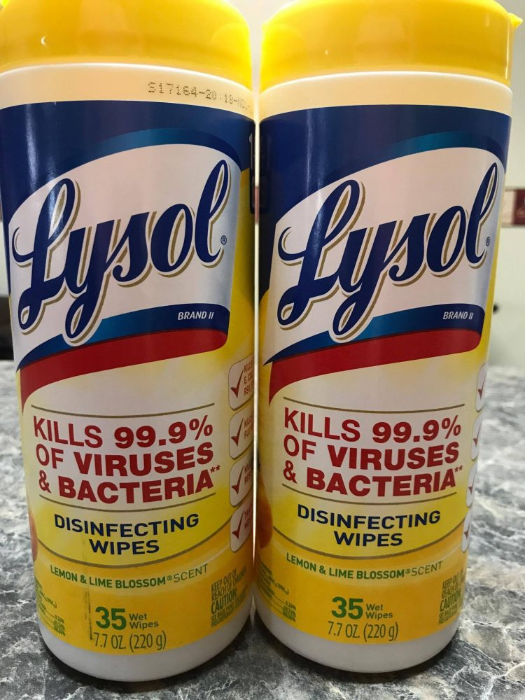 Lysol® Disinfecting Wipes will help keep your family thriving and healthy year round by helping to prevent the spread of germs from one person to another.