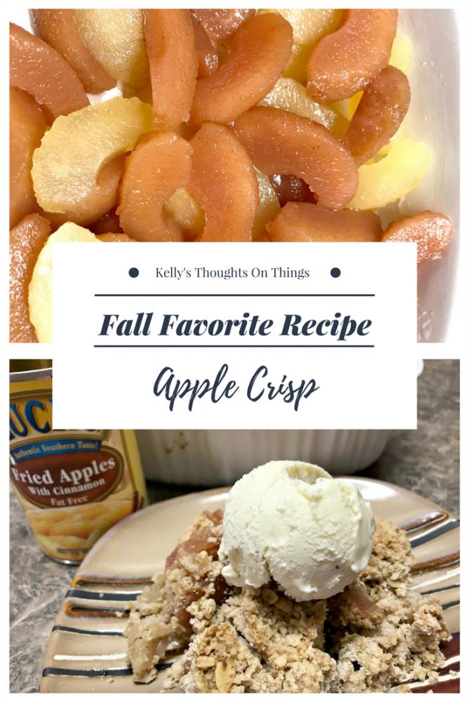 Fall Favorite: Apple Crisp
