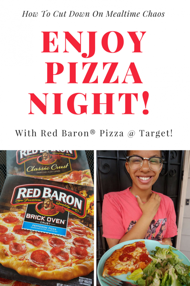 No More Mealtime Chaos- Enjoy Pizza Night #ad #WingMama @Baroness