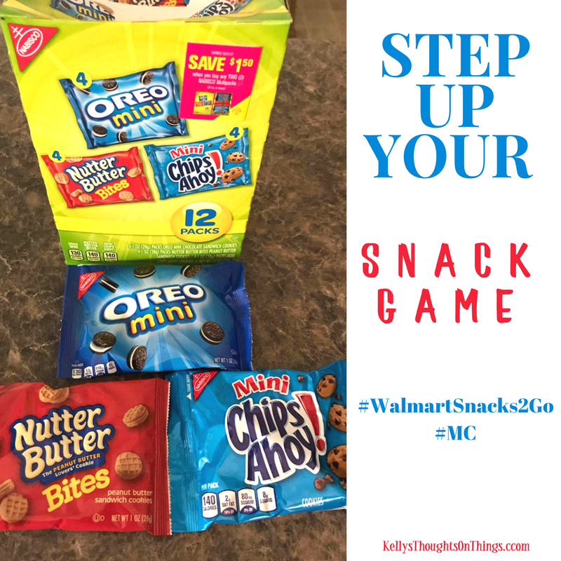The NABSICO Multipacks (12-pack) feature the perfect variety of cookies – Oreo minis, Nutter Butter bites, and mini Chips Ahoy.