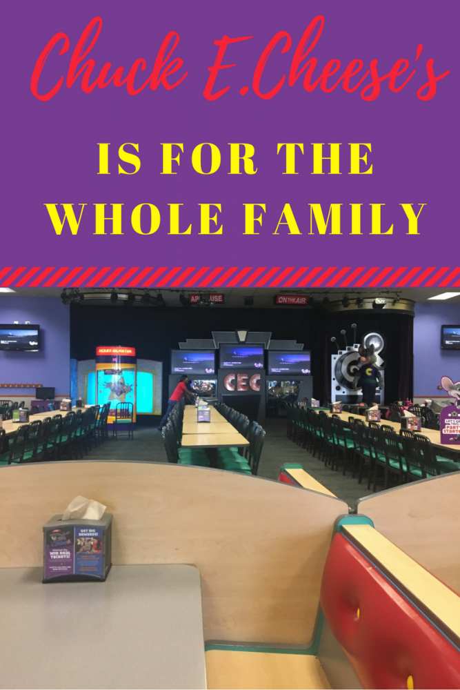 Chuck E. Cheese Is For Everyone- New Menu Items & More!