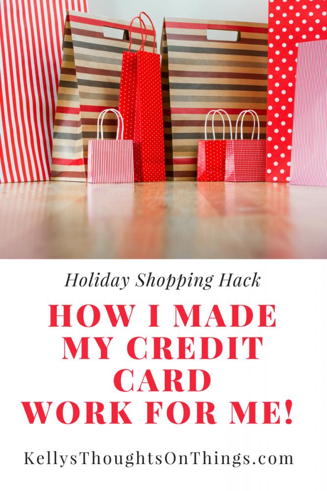 How I Made My Credit Card WORK FOR ME!