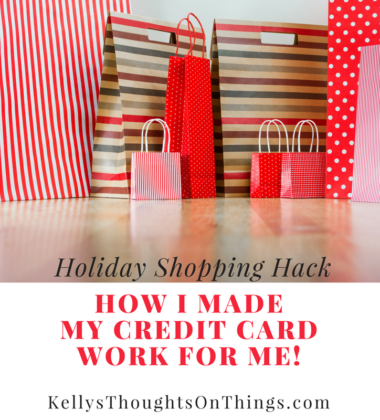 My Holiday Shopping Hack: How I Made My Credit Card WORK FOR ME! #CreditCardWin #sponsored