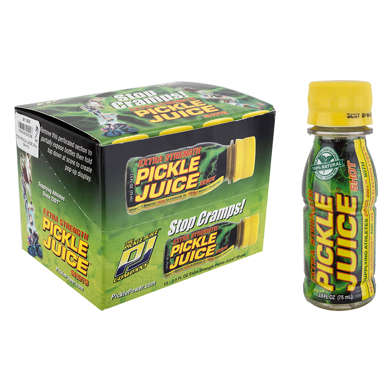 power up with pickle juice