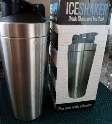 Ice Shaker- Drink Clean and Cold- Buy on amazon!