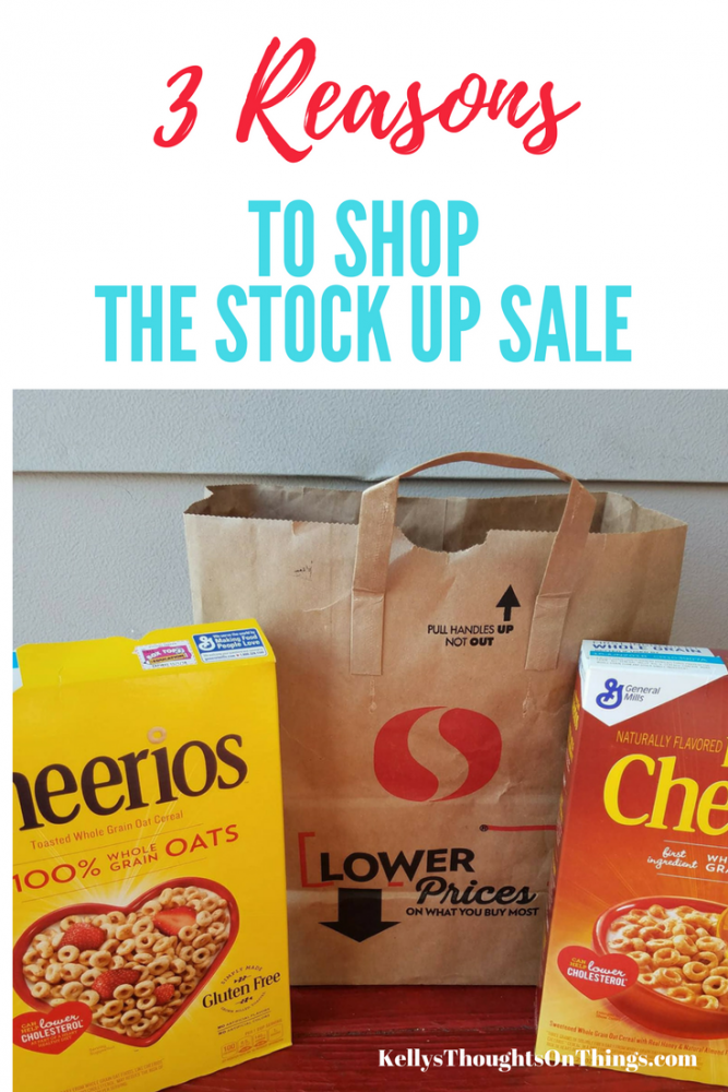 3 Reasons To Shop the Stock Up Sale