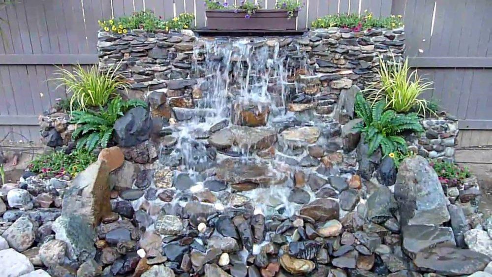 adorn your garden with backyard waterfalls diy ideas