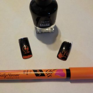 Beauty Halloween Style with Sally Hansen and Rimmell London