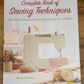 brush up on sewing skills