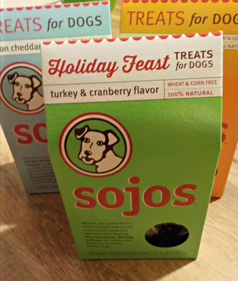Don't forgets dogs sojos treats