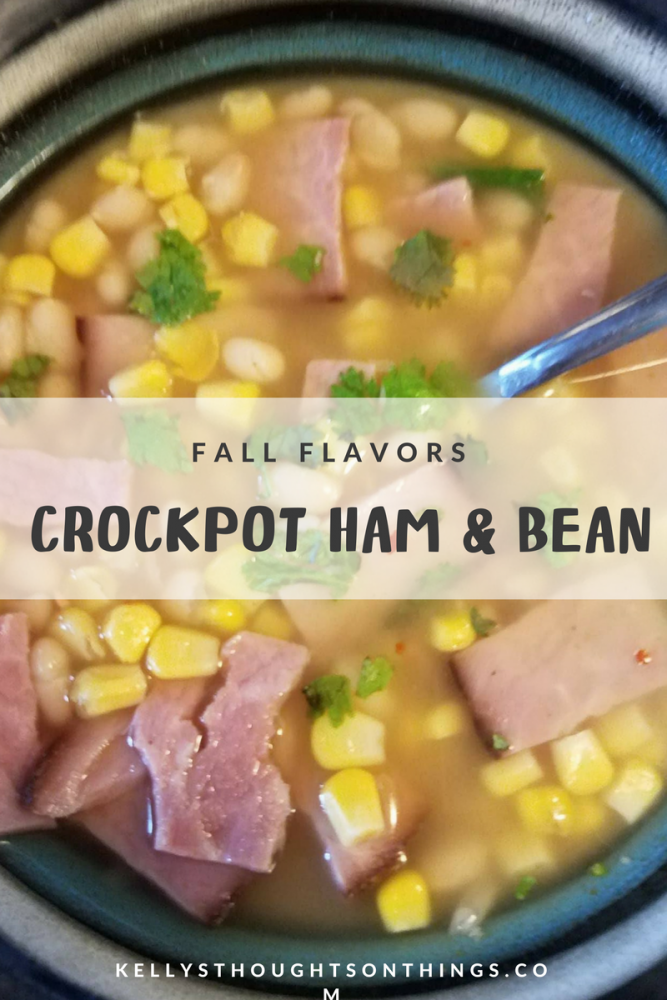Check out my Crockpot Ham & Bean Soup Recipe #ad