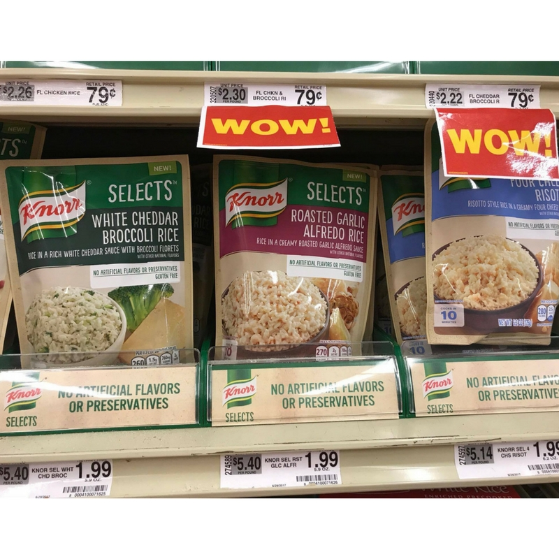 Serve Up A Fabulous Weeknight Meal With Knorr Selects