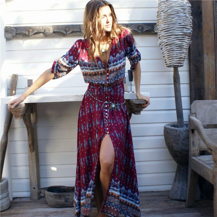 bohemian dress boho