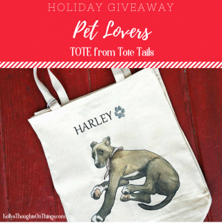 Enter the Giveaway to WIN a Tote from Tote Tails
