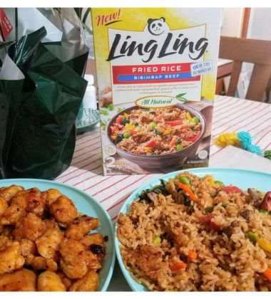 Family Fun Night Feast With Ling Ling Fried Rice#LingLingFriedRice #IC #AD
