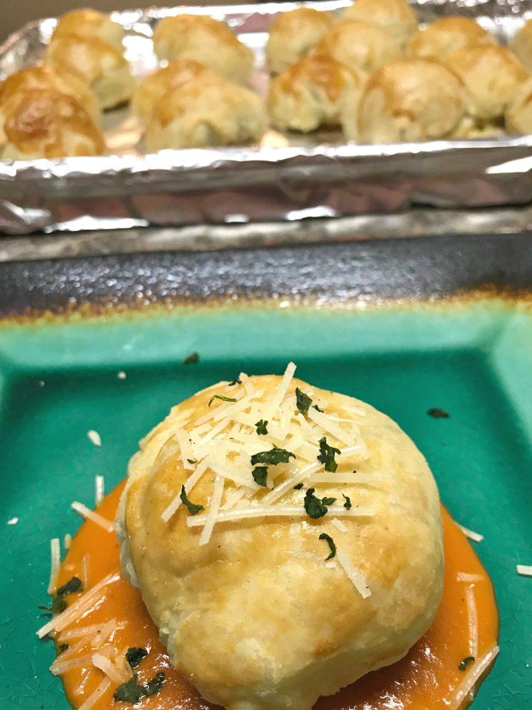#ad Easy & Quick Recipe: Meatball Wellington #CarandoAtFoodLion, #IC,