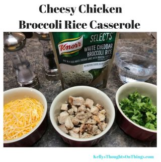 Mom Hack #1 Use Knorrs White Cheddar Broccoli Rice