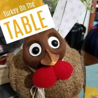 Family Activity: Turkey On The Table