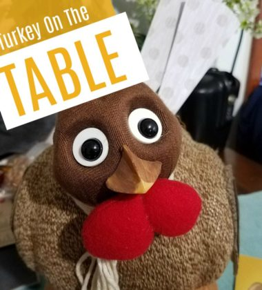Family Activity: Turkey On The Table