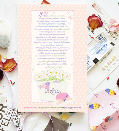 Beautiful Keepsake Journals- Happy Rosy Day Book