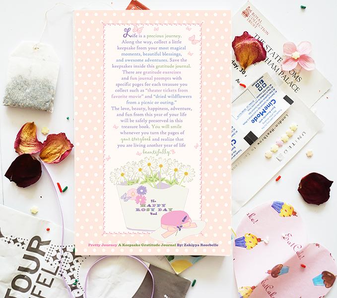 Beautiful Keepsake Journals- Happy Rosy Day Book