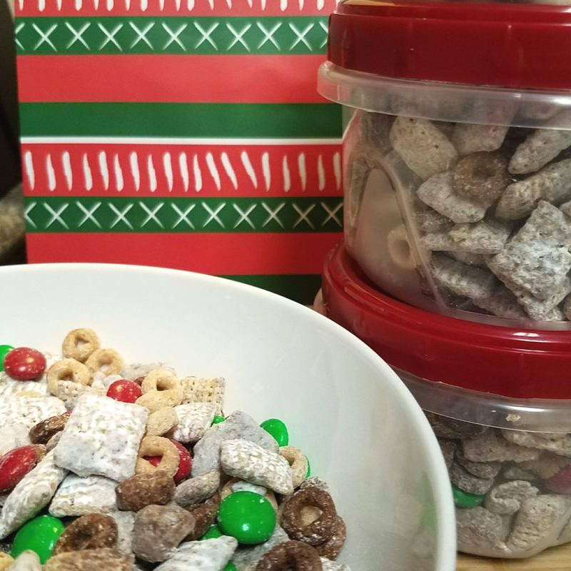 RECIPE: Peanut Butter Cheerios™ Chex™ Muddy Buddy™ Party Mix (Plus Coupon)