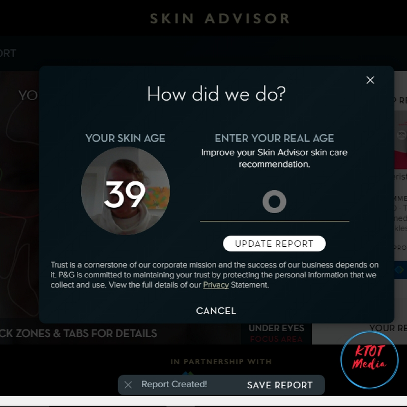 Olay Skin Advisor Tool
