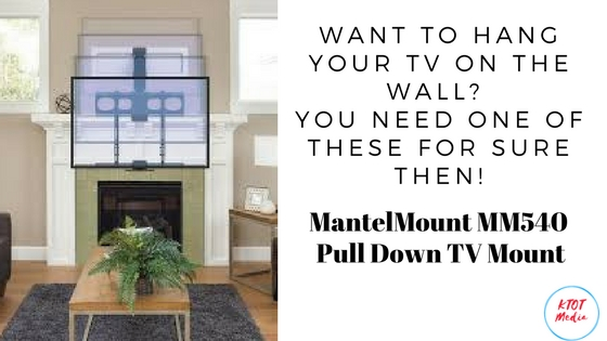Want To Hang Your TV On The Wall? You Need This TV Mount For Sure!