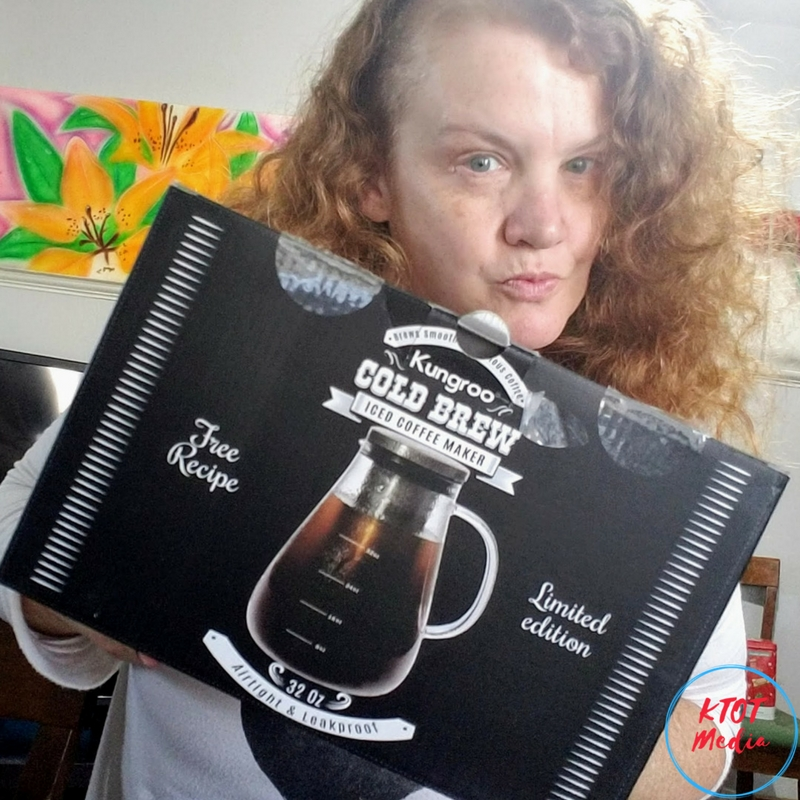 Kungroo (Limited Edition) Iced Coffee Maker Makes The Best Cold Brew!