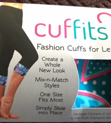 A Valentine Gift for the Fitness Lover - Cuffits Legging Accessory