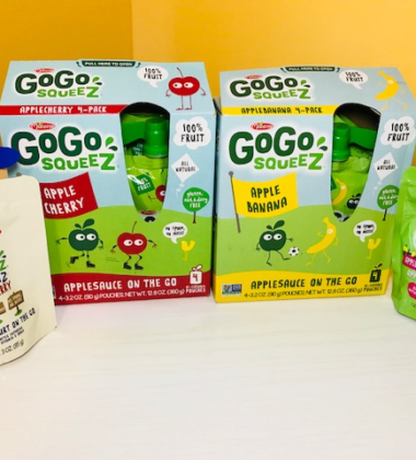 GoGo squeeZ - An Easy Way to Snack Healthy
