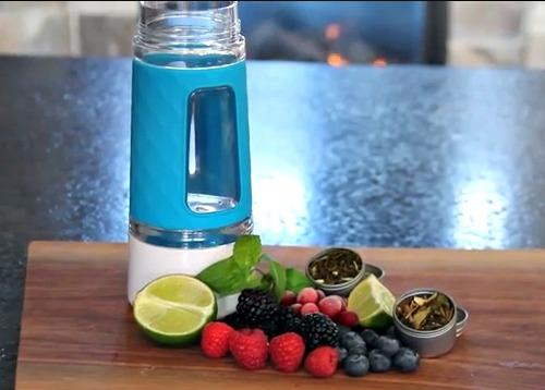 Keep Your New Year's Resolution and Stay Hydrated with the Fruition Infuser Bottle 2