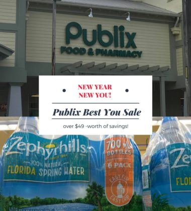 #ad My local Publix is helping me save on items I can use in my diet changes with their BEST YOU sale that starts on January 27th. We will all be able to save over $49 on all kinds of products. Do you like saving money on products you buy? I know I do!