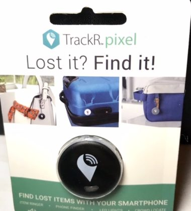 Find your lost items with TrackR Pixel