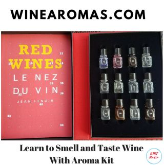 Learn to Smell and Taste Wine With Aroma Kit